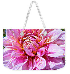 My First Dahlia Weekender Tote Bag