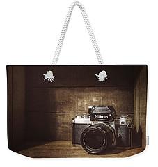 My First Nikon Camera Weekender Tote Bag