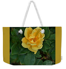 My First Yellow Rose Weekender Tote Bag
