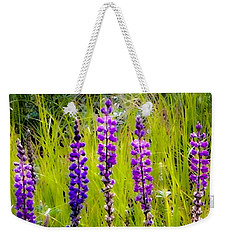 My Five Lupines Weekender Tote Bag