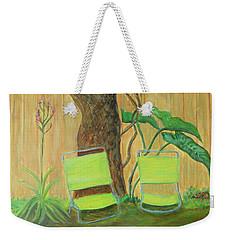 My Florida Green Backyard Weekender Tote Bag