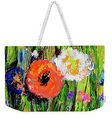 My Flower Garden In Fall Weekender Tote Bag