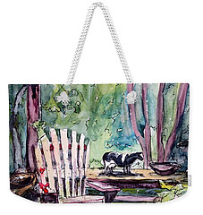 My Front Porch Weekender Tote Bag