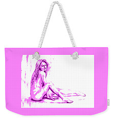 My Funny Valentine... Weekender Tote Bag by Edgar Torres