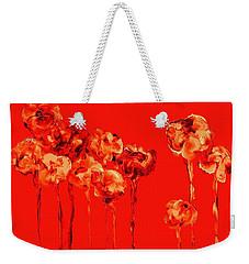 My Garden - Red Weekender Tote Bag