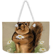 Weekender Tote Bag featuring the painting My Gift For You by Veronica Minozzi