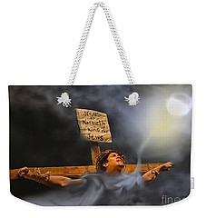 My God, My God Weekender Tote Bag