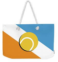 Weekender Tote Bag featuring the digital art My Grand Slam 01 Australian Open 2017 Minimal Poster by Chungkong Art