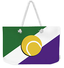 My Grand Slam 03 Wimbeldon Open 2017 Minimal Poster Weekender Tote Bag