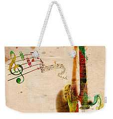 My Guitar Can Sing Weekender Tote Bag by Nikki Smith