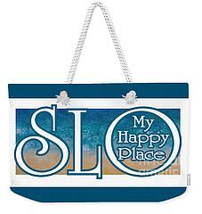 My Happy Place Weekender Tote Bag