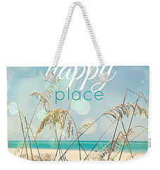 My Happy Place Weekender Tote Bag by Valerie Reeves