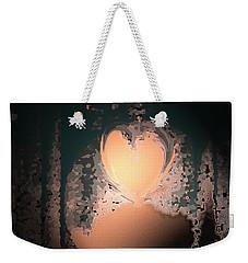 My Heart Is On The Moon Weekender Tote Bag by Lenore Senior
