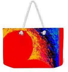 My Heart's On Fire Weekender Tote Bag
