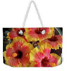 My Hibiscus Garden Weekender Tote Bag
