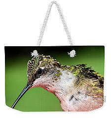 My Hummingbird Weekender Tote Bag by Debbie Green