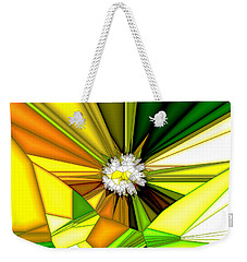 My Little Digital Daisy Weekender Tote Bag