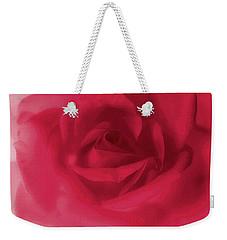 My Love Rose Weekender Tote Bag by The Art Of Marilyn Ridoutt-Greene
