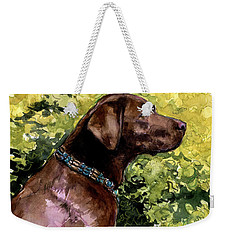 My Lucky Charm Weekender Tote Bag by Molly Poole