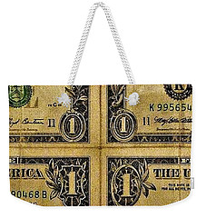 Weekender Tote Bag featuring the photograph My Lucky Day by John Glass