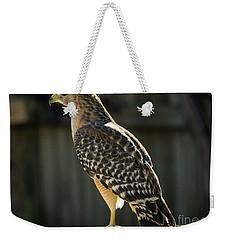 My Lucky Hawk Weekender Tote Bag