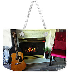 My Martin By The Fire Weekender Tote Bag