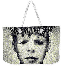 My Mind Weekender Tote Bag