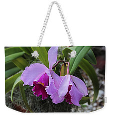 Weekender Tote Bag featuring the photograph My Orbit by Michiale Schneider