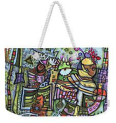 My Party Weekender Tote Bag by Sandra Church