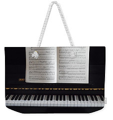 My Piano Weekender Tote Bag by Esther Newman-Cohen