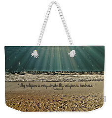 My Religion Weekender Tote Bag by Trish Tritz