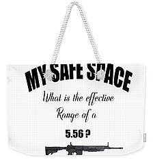 Weekender Tote Bag featuring the digital art My Safe Space by Ericamaxine Price