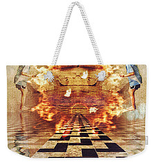 My Shadow's Reflection II Weekender Tote Bag
