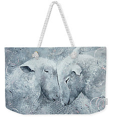 My Sheep Hear My Voice Weekender Tote Bag