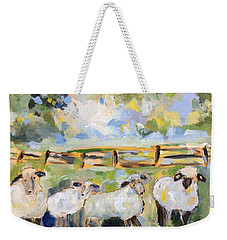 My Sheep Will Follow Me Weekender Tote Bag
