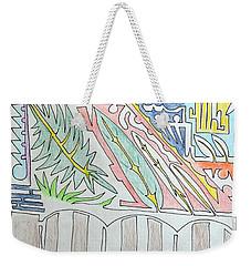My Side Yard Weekender Tote Bag by J R Seymour