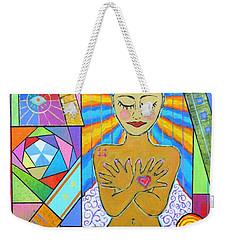 My Soul, I Carry Weekender Tote Bag