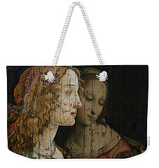 Weekender Tote Bag featuring the mixed media My Special Child by Paul Lovering