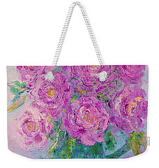 My Summer Roses Weekender Tote Bag