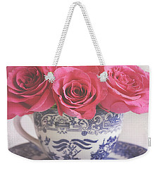 Weekender Tote Bag featuring the photograph My Sweet Charity by Lyn Randle
