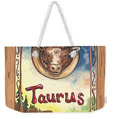 My Taurus Weekender Tote Bag
