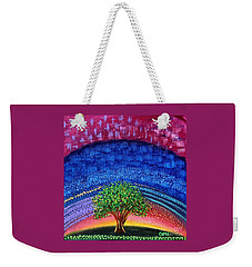 Tree At Nightfall Weekender Tote Bag