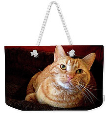 Weekender Tote Bag featuring the photograph My True Love by Luther Fine Art