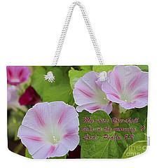 My Voice Weekender Tote Bag