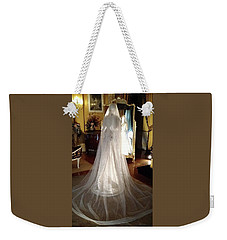 My Wedding Gown Weekender Tote Bag by Gary Smith