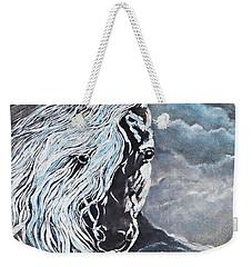 My White Dream Horse Weekender Tote Bag