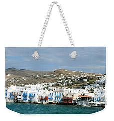 Mykonos Littlle Venice Weekender Tote Bag