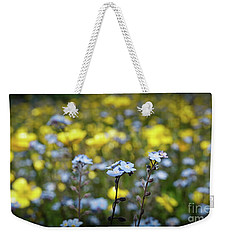 Myosotis With Yellow Flowers Weekender Tote Bag