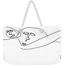 Myrtle And Magnus Were Such An Unlikely Couple Weekender Tote Bag