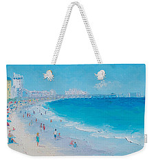Myrtle Beach And Springmaid Pier Weekender Tote Bag